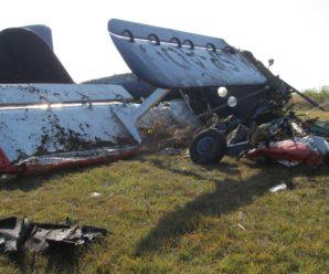 Біля Коломиї розбився літак: троє осіб травмовано