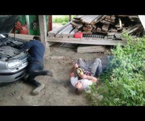 Дожартувався: жорстокий пранк з бензопилою довів до припадку хлопця (відео)