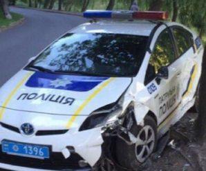 В Івано-Франківську відбулося 25 ДТП за участі поліцейських машин