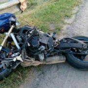 На Прикарпатті пасажиру мотоцикла зняло скальп