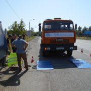 На в'їзді до Франківська зважують вантажівки. ФОТО