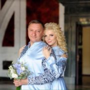 Заступник міського голови Івано-Франківська Олексій Кайда втретє став на рушничок щастя. ФОТО