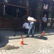 Конфлікт у центрі Франківська: бійка між компанією завершилася стріляниною. ФОТО
