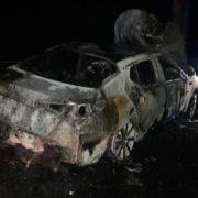 Подробиці ДТП, в якому згоріло авто в Ямниці. ФОТО