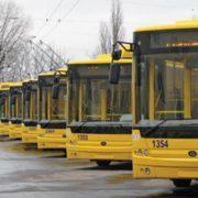 У Франківську тролейбуси курсуватимуть за новими сполученнями та змінять режим роботи