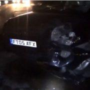 У Вигоді водій протаранив три припарковані автомобілі і пішов: є двоє потерпілих. ФОТО, ВІДЕО