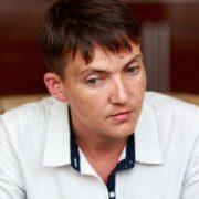Знову без ліфчика? Надія Савченко шокувала своїм образом в ефірі одного з телеканалів. А цей нашийник для чого?
