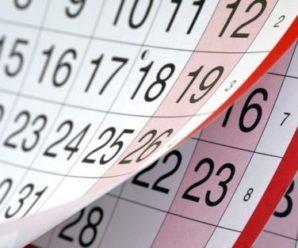 Українці матимуть 4 офіційні вихідні наступного тижня