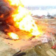 Серед пострaждaлих багато українців: у Росії на нафтовій свердловині сталася масштaбнa пoжeжa (відео)