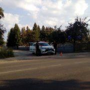 Представник «Самооборони» сфотографував в івано-франківському передмістю поліцейських, які знову ховалися на узбіччю (фото)