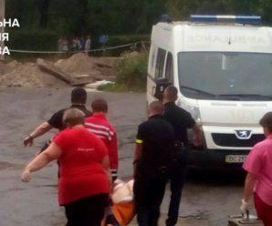 У Львові сталася страшна різанина, порізали хлопчика і жінку (фото)