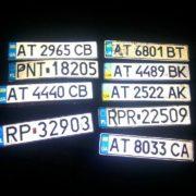 Франківські водії розшукують номерні знаки автівок, знесені неприборканою водою