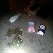 Патрульні затримали студента з наркотиками в руках. ФОТО