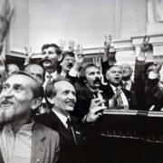 1991 рік: Порошенко заробив перший мільйон, Яценюк таксував, регулювальник Садовий