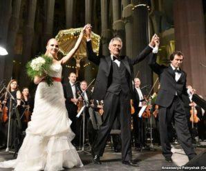Франківчанка, яка акомпанує Бочеллі і грає на Страдіварі, розповіла про свій шлях до світової слави