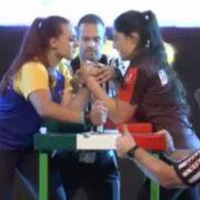 Відео дня: Фінал чемпіонату світу з армспорту в Будапешті. Українка Руслана Кулик проти росіянки Заліна Хосроевоі Дивіться хто кого…