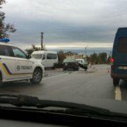 Ранкова ДТП на Тлумаччині. Автівки розбиті вщент