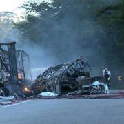 У вогняній ДТП загинули 11 танцюристів (відео)