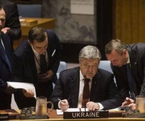 """Pocійська делегація сиділа з червоними вухами. Бо ніхто так чітко не називав речі своїми іменами"""",- Геращенко про виступ Порошенка в ООН"""