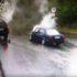 У мережу виклали відео з добіркою вражаючих ДТП на проблемному повороті в Косові