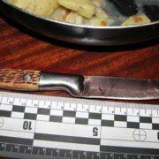 22 ножові поранення: Прикарпатка, котра відсиділа за вбивство чоловіка, зарізала брата співмешканця (фото)