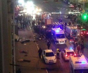 Подобиці ДТП. У Харкові 20-річна жінка-водій на тротуарі на смерть збила шістьох пішоходів (фото,відео+16)
