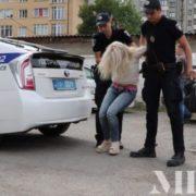 Скандальна Тетяна Михайлова, яка збила у нетверезому стані франківських патрульних, ховається від слідства у психлікарні?