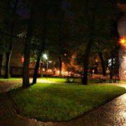 В мережу виклали красиві світлини нічного скверу Княгинин (фото)