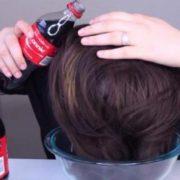 Вона помила волосся Кока-Колою, результат був неочікуваний