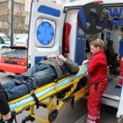 У Франківську на переході збили чоловіка. ФОТО