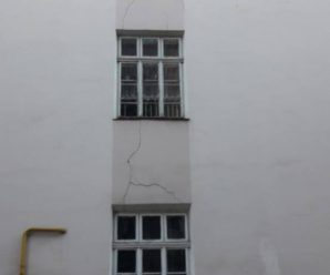 У франківській школі №7 тріщать стіни