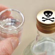 6 літрів – на асфальт. У Франківську борються із сурогатним алкоголем. ВІДЕО