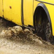 Технічно несправні маршрутки і налякані водії: патрульні перевіряють, які автобуси перевозять франківців. ВІДЕО