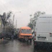 У Ямниці під час зіткнення трьох автомобілів постраждали діти