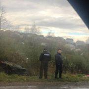 Моторошна аварія: на Прикарпатті автівка злетіла в кювет. ФОТО