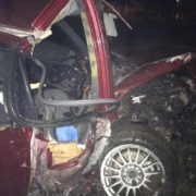 У жахливій ДТП під Франківськом загинув пасажир, водія – шпиталізували. ФОТО