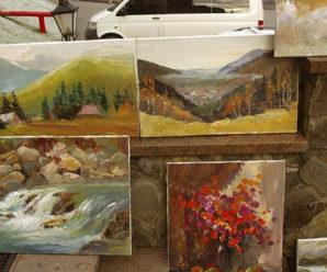 Дарунки для творчості від природи: в Яремче відбувся пленер художників. ФОТО