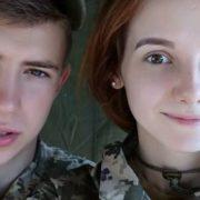 Вагітність і побої: юна пара АТОвців вразила мережу