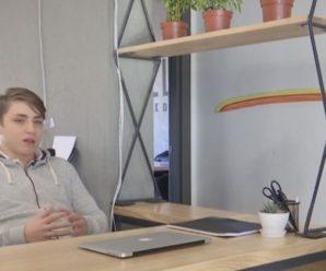 """""""Поки мої однолітки готуються до ЗНО, я керую власною компанією"""": як 12-річний хлопець відкрив власний бізнес (відео)"""