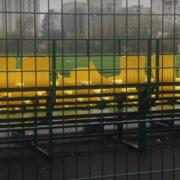 Вандали добрались до нового стадіону. ФОТО