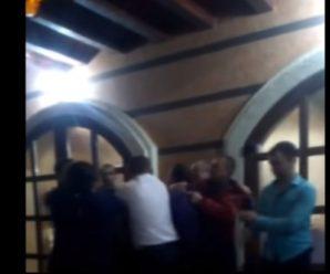 Дитяче День народження: два депутати влаштували п'яну бійку у кафе та погрожували зброєю. ВІДЕО