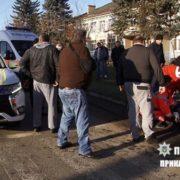 На Прикарпатті BMW на пішоходному переході збило дівчинку. ФОТО