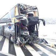 Смерть і більше 10 постраждалих українців. Автобус «Прага-Ужгород» потрапив у смертельне ДТП (фото)