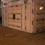 В Івано-Франківську встановили першу в місті модульну вбиральню (відео)