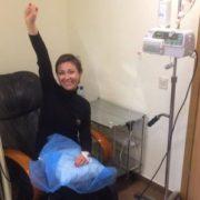 Я повністю здорова: Франківська патрульна вилікувалась від раку