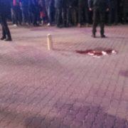 Відео з телефона дівчини, яка постраждала під час відкриття ялинки. ФОТО/ВІДЕО 18+