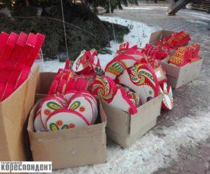 У Надвірні відмовилися від китайських прикрас на головну ялинку (фото)