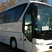 На Прикарпатті злетів у кювет автобус із туристами