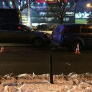 Вечірня ДТП: У Франківську зіткнутися два авто (фотофакт)