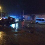 У ДТП в Угринові перекинулась автівка